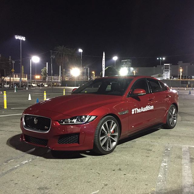 The new #JaguarXE S is an absolute hoot to drive. Leasehackr will be following up with #lease pricing. #TheAudition