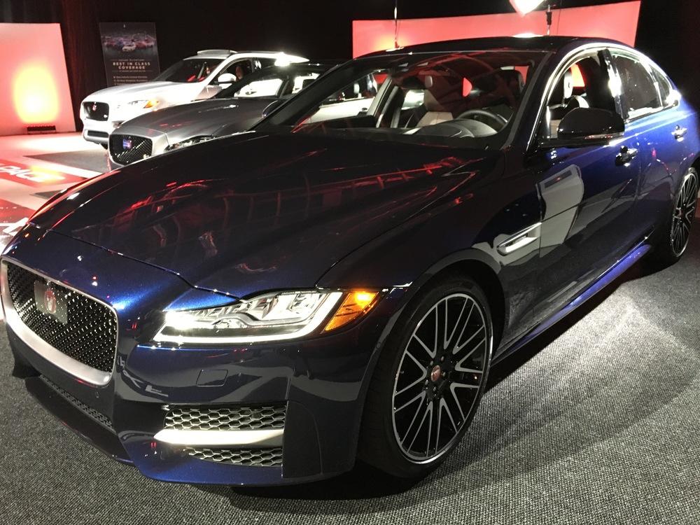 The all-new Jaguar XF.