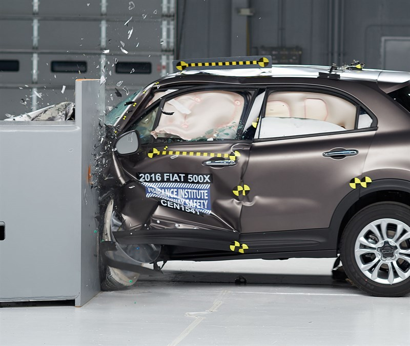 2016 FIAT 500X (Source: IIHS.org)