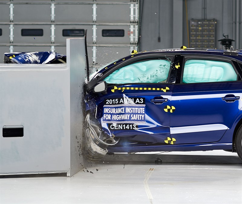 2015 Audi A3 (Source: IIHS.org)