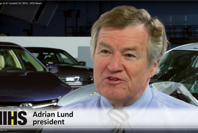 Adrian Lund (Source: IIHS.org)