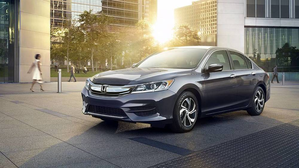 2016 Honda Accord LX (source: hondacars.com)