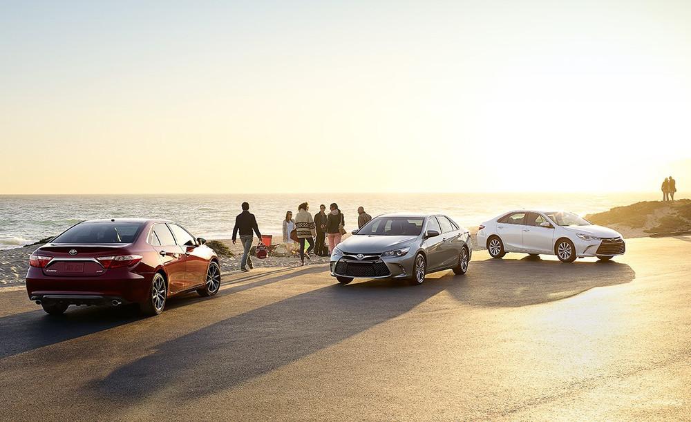 2016 Toyota Camry family (source: toyota.com)