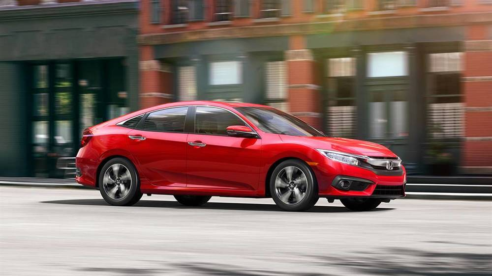 2016 Honda Civic Touring Sedan (source: www.hondacars.com)