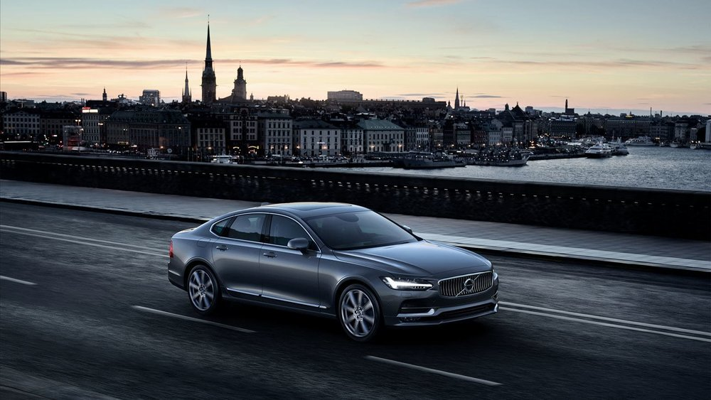 Volvo S90 just oozes understated cool. (source: www.volvocars.us)
