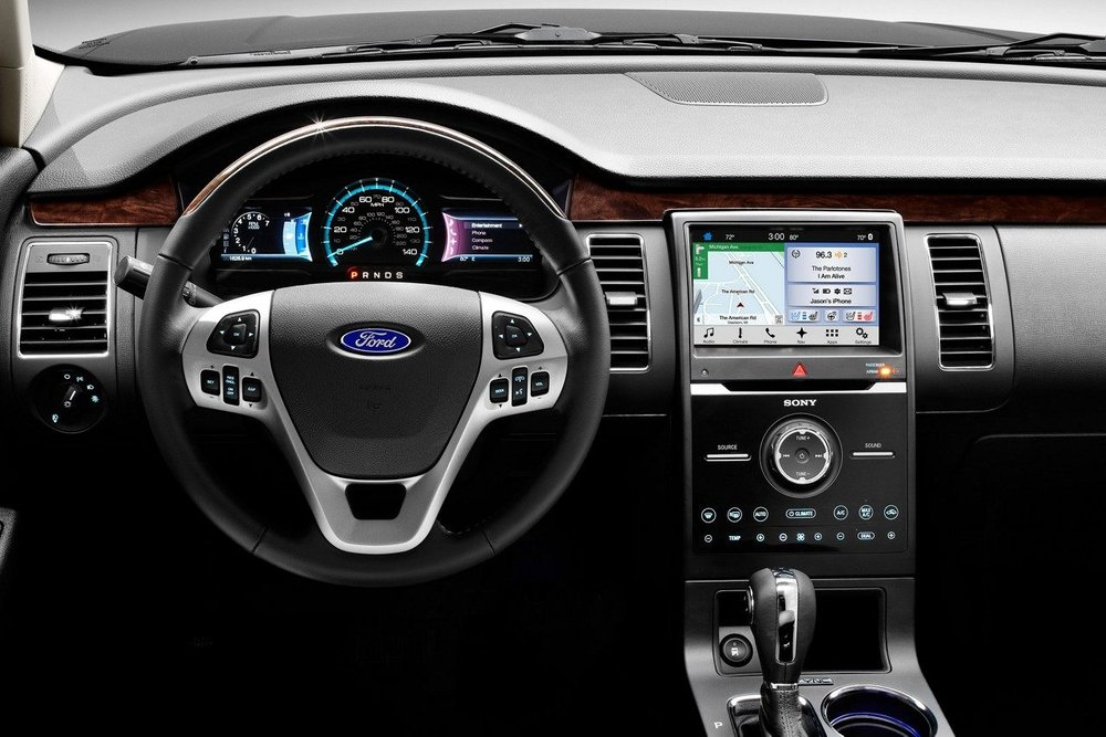 2018 Ford Flex Limited interior (source: media.ford.com)