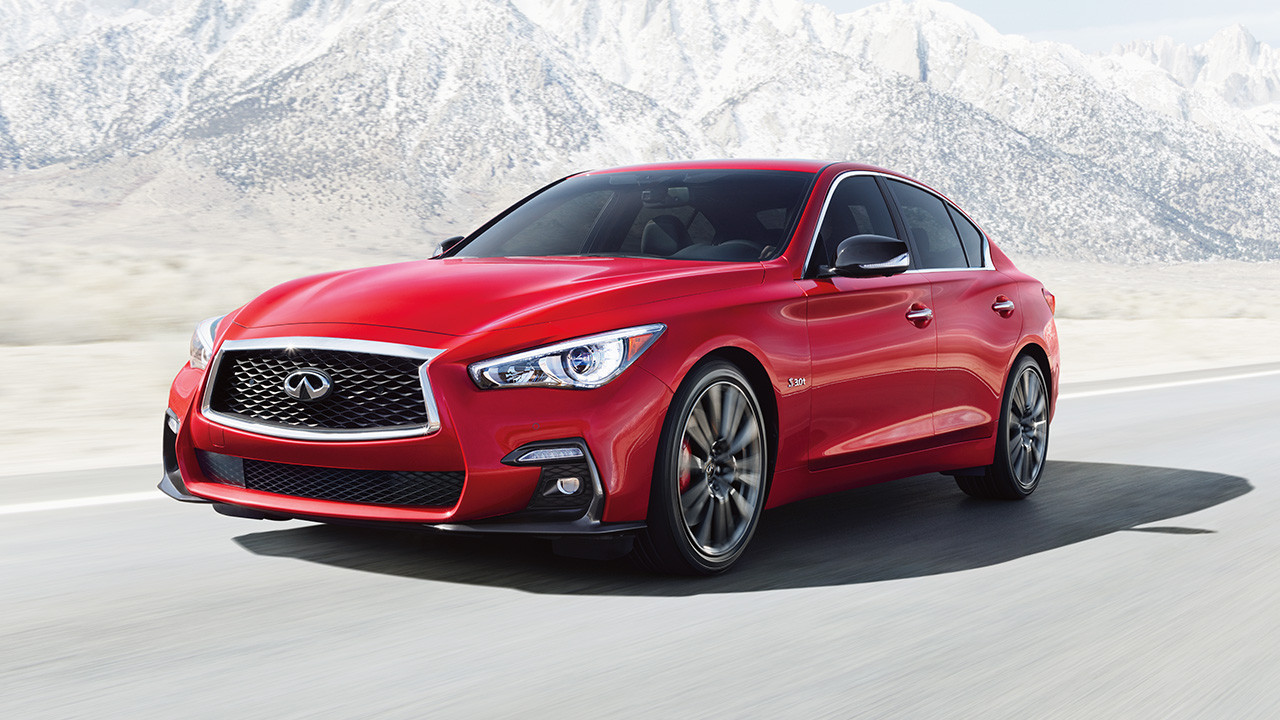 to infiniti and beyond: lease the 300-horsepower q50 sedan for $300