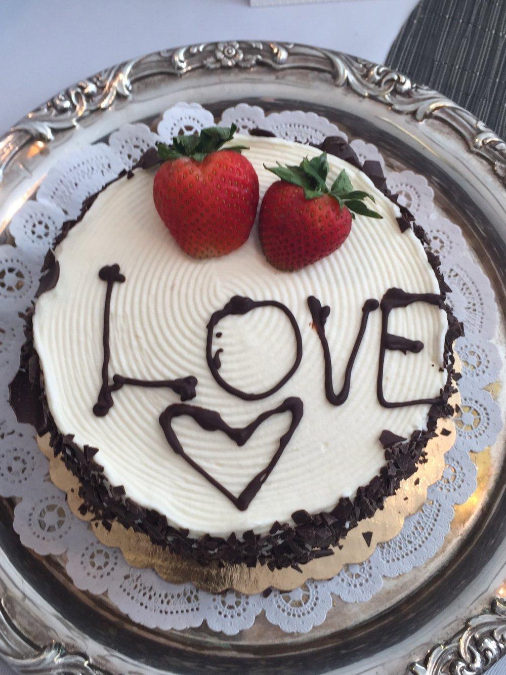 Gluten Free Cake from NoGlu Gluten Free NYC Bakery