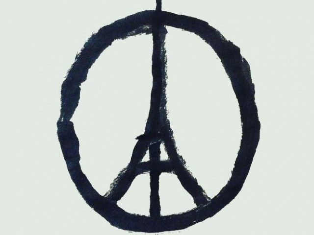 Peace for Paris  Artist- Jean Jullien