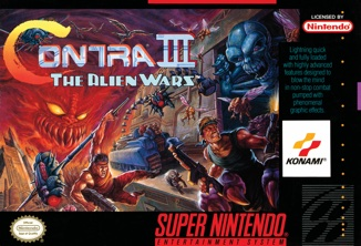 Never a huge Contra fan, but did play this a bit with friends, so cool.