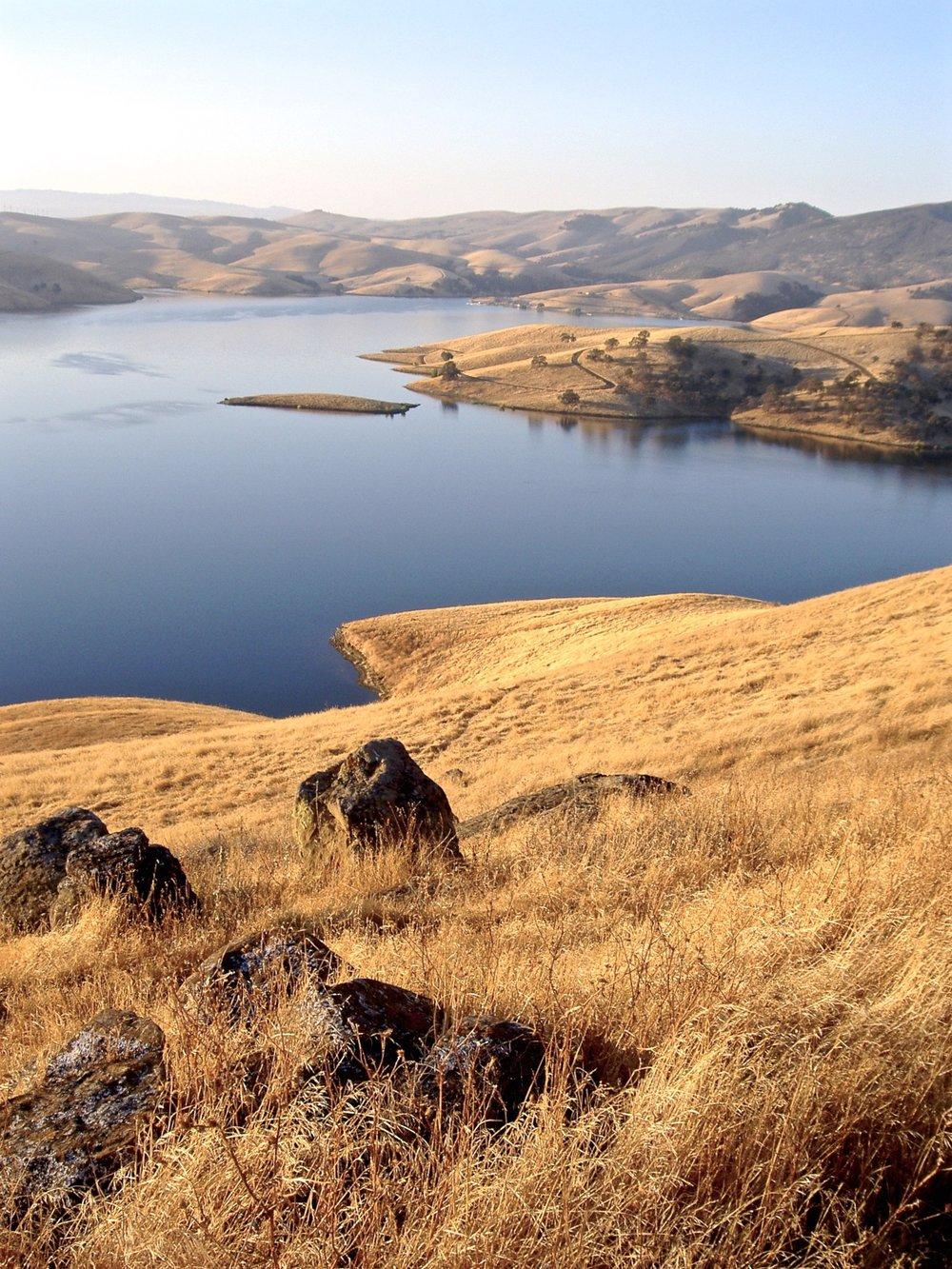 Los Vaqueros Reservoir.