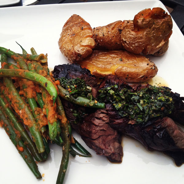 Hodge's hanger steak