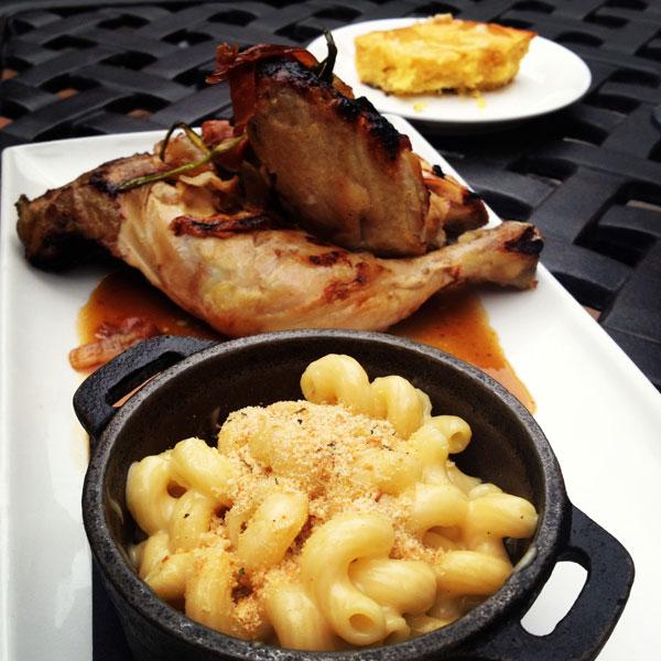 hodge's grilled half chicken