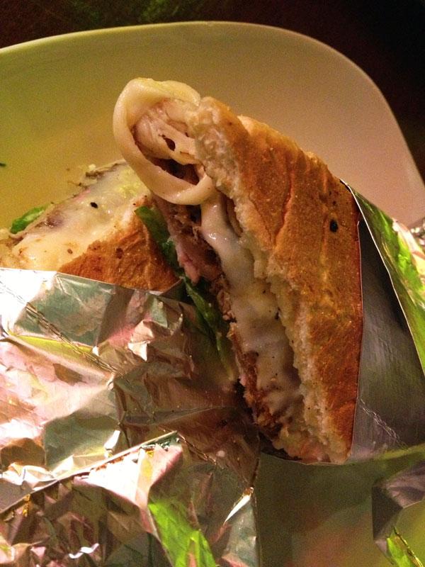 Barroco Grill Sandwich Cubano