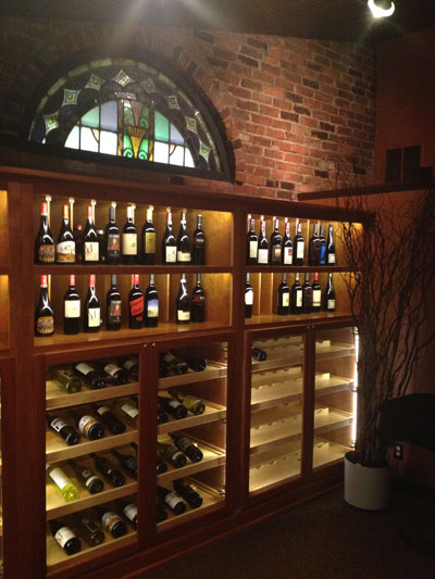 Wine Room at Light Bistro