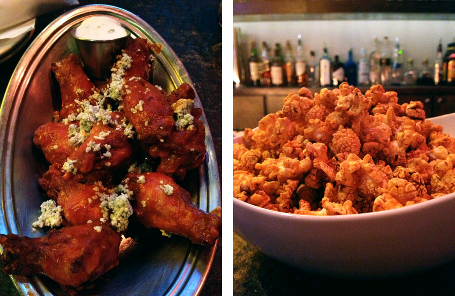 Market Garden Brewery - Srirachi BBQ Wings and Smokey BBQ Popcorn