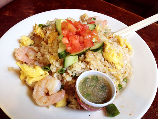 Johnny Mango - Shrimp Fried Rice