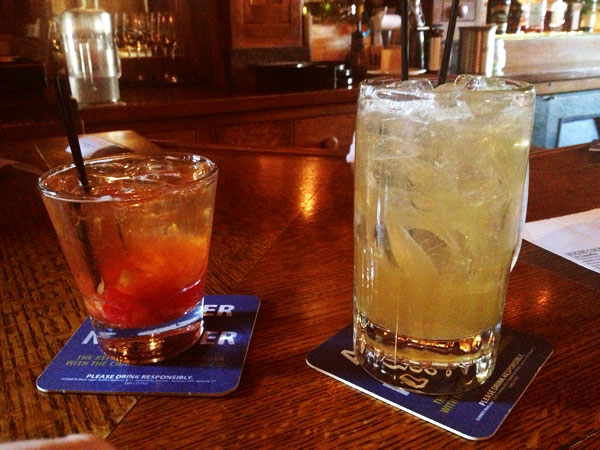 Stone Mad Pub - Old Fashioned and the Charles Dickens
