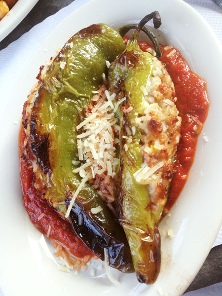 Stone Mad Pub - Stuffed Peppers