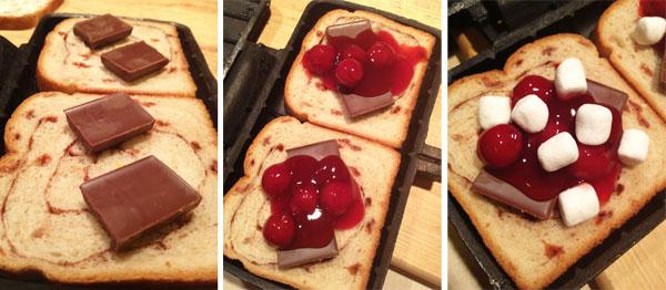 Choco-Cherry Firepie