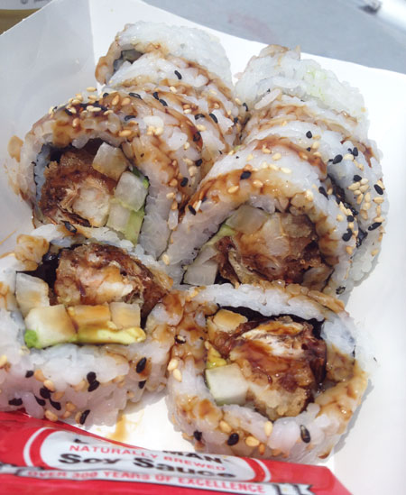 Mobile Sushi - Spider Roll