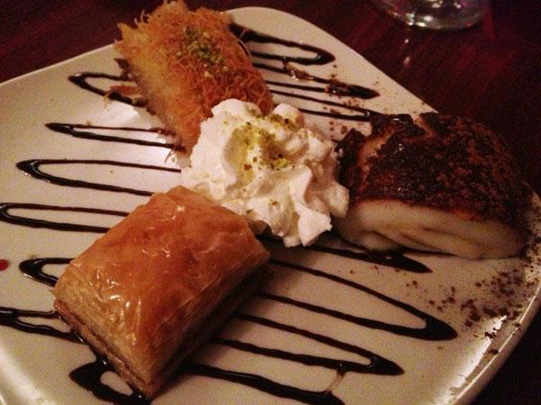 Dervish Grill - Dessert Sampler