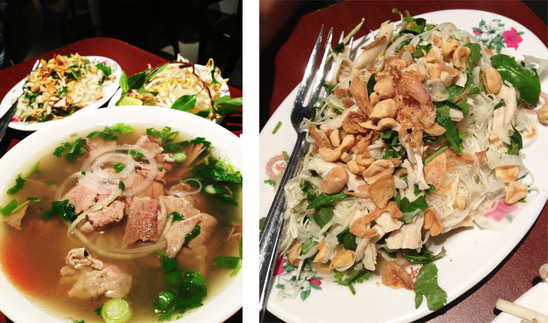 Superior Pho - Pho and Chicken Cabbage Salad