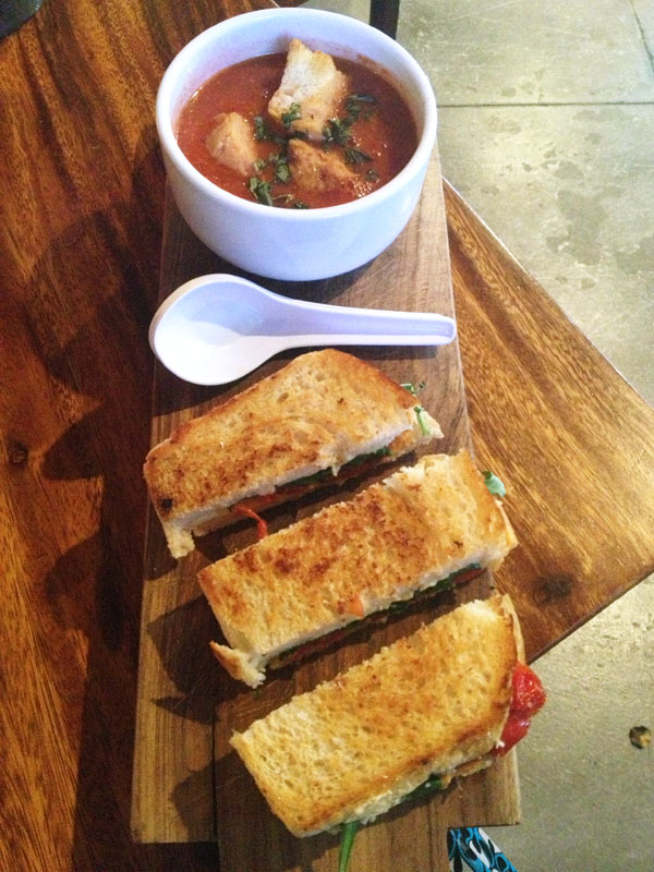 TownHall - Grilled Cheese Bars and Roasted Tomato Soup