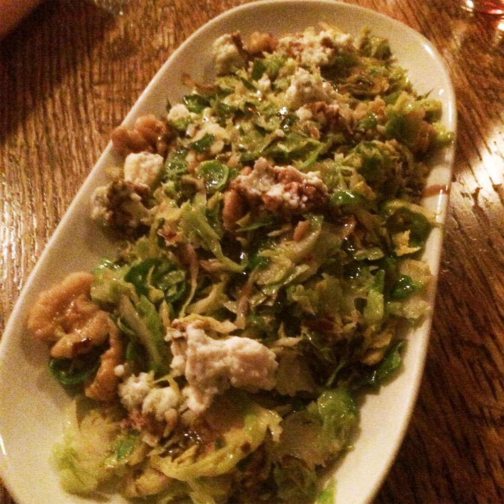 Shaved-Brussels-Sprouts-bacon,-walnuts,-smoked-blue-cheese
