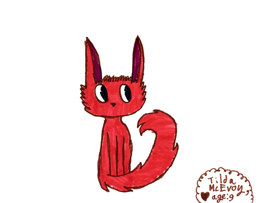 Tilda, age 9