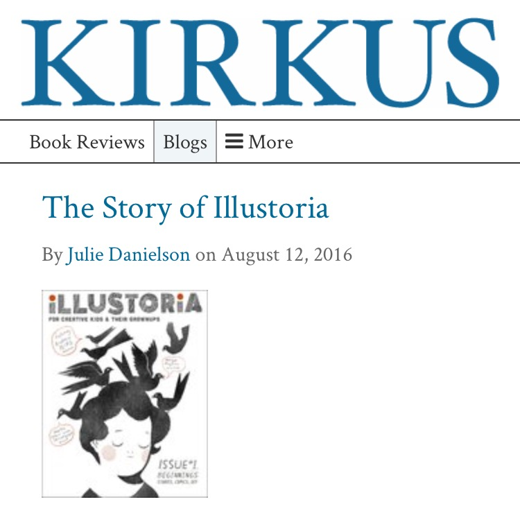 Read the full feature on Illustoria on  Kirkus Reviews .