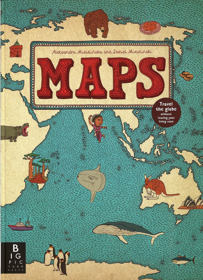 Maps is another gorgeous, large-format book by the authors that flaunts an incredible breadth of information about the world and its inhabitants through detailed illustrations and hundreds of fascinating facts.