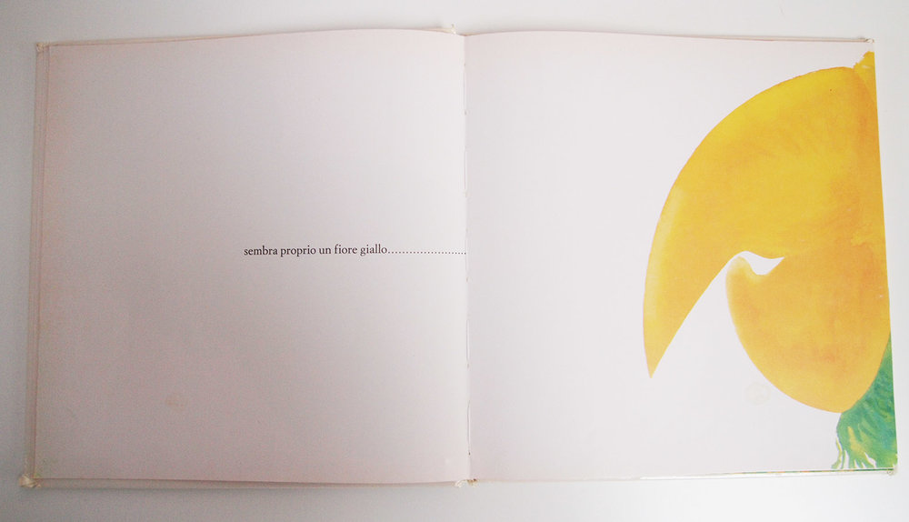 Sembra Questo Sembra Quello  by   Enrica Maria Agostinelli .  Translation:  It Just Looks Like A Yellow Flower....