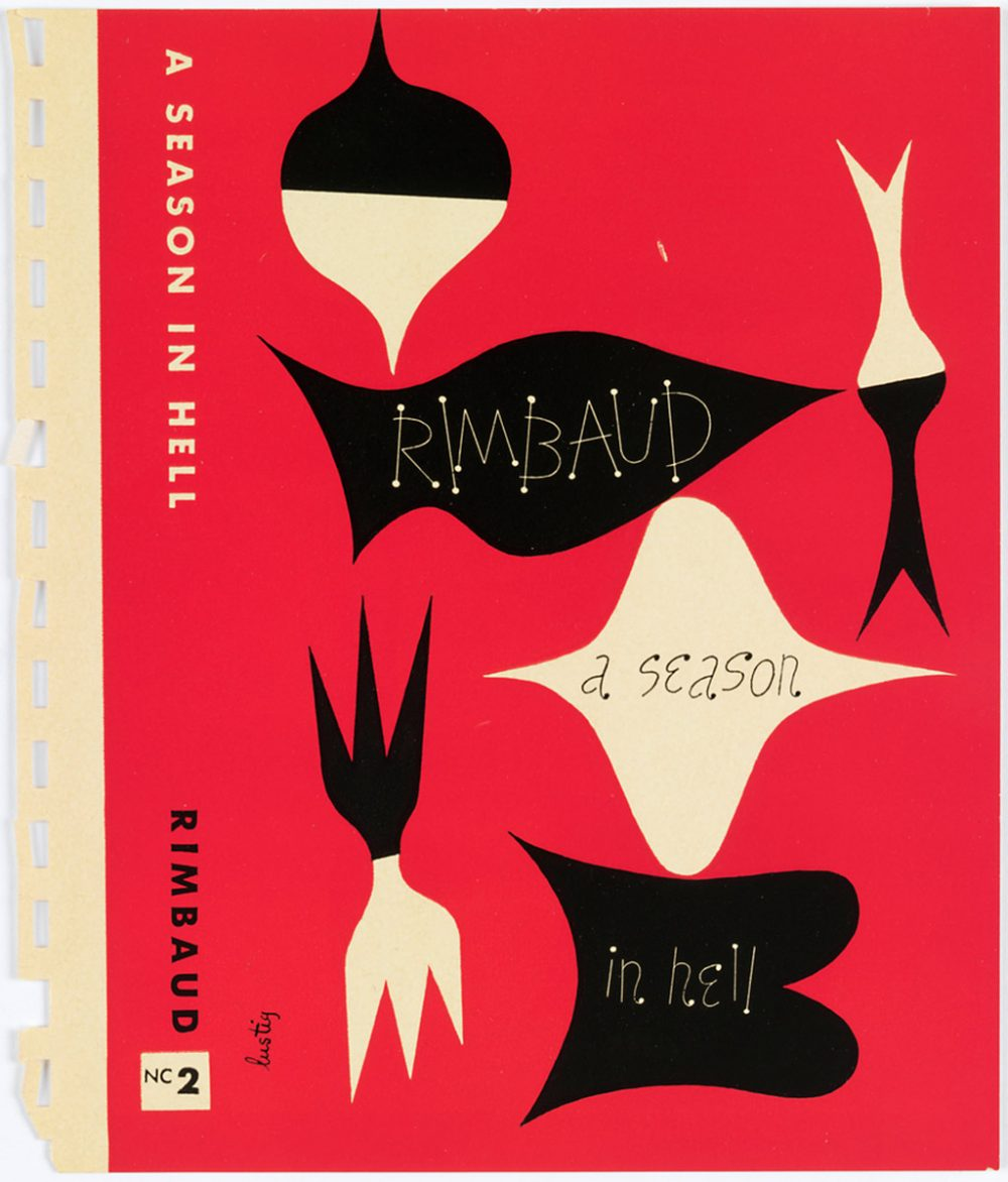 A Season In Hell  by Arthur Rimbaud, Cover Design by Alvin Lustig.