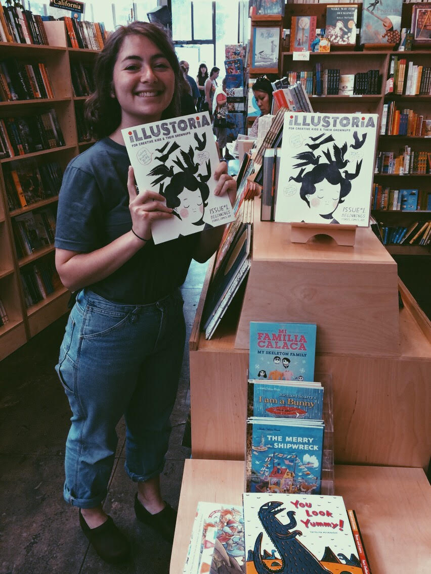 ILLUSTORIA's publishing assistant and LA native Claire Astrow considers Skylight Books a home away from home.
