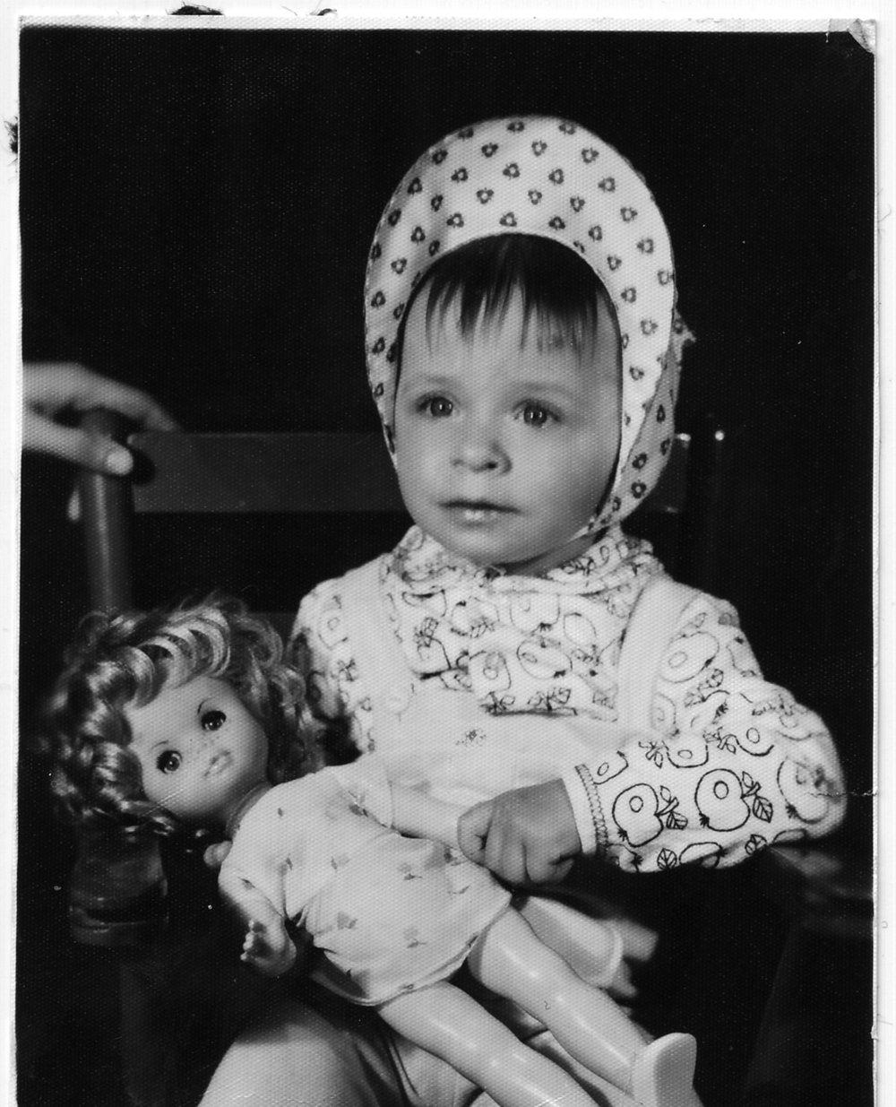 Marzena Sowa (Left) and Berenika Kotomycka (right) as kids