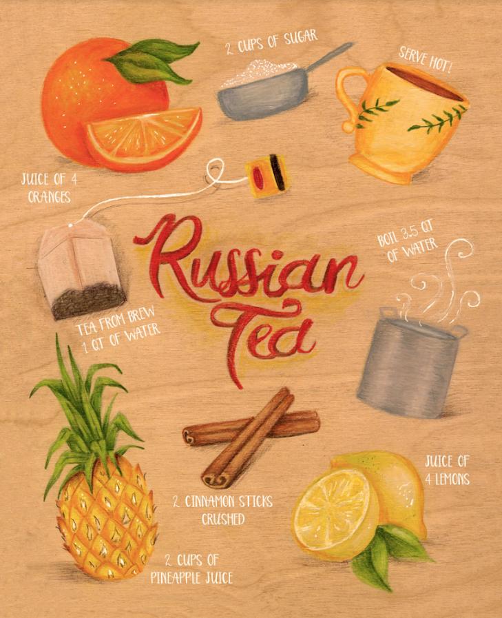Russian Tea, by Lana Laughlin