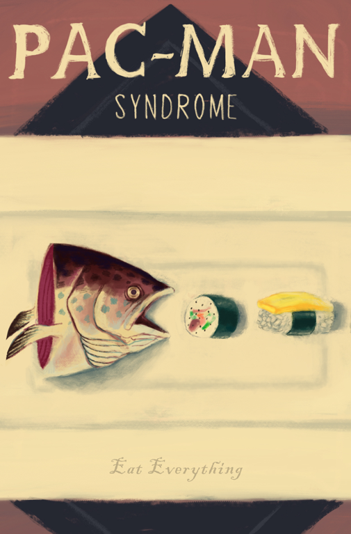 Pac-Man Syndrome, by Nicole Richardson