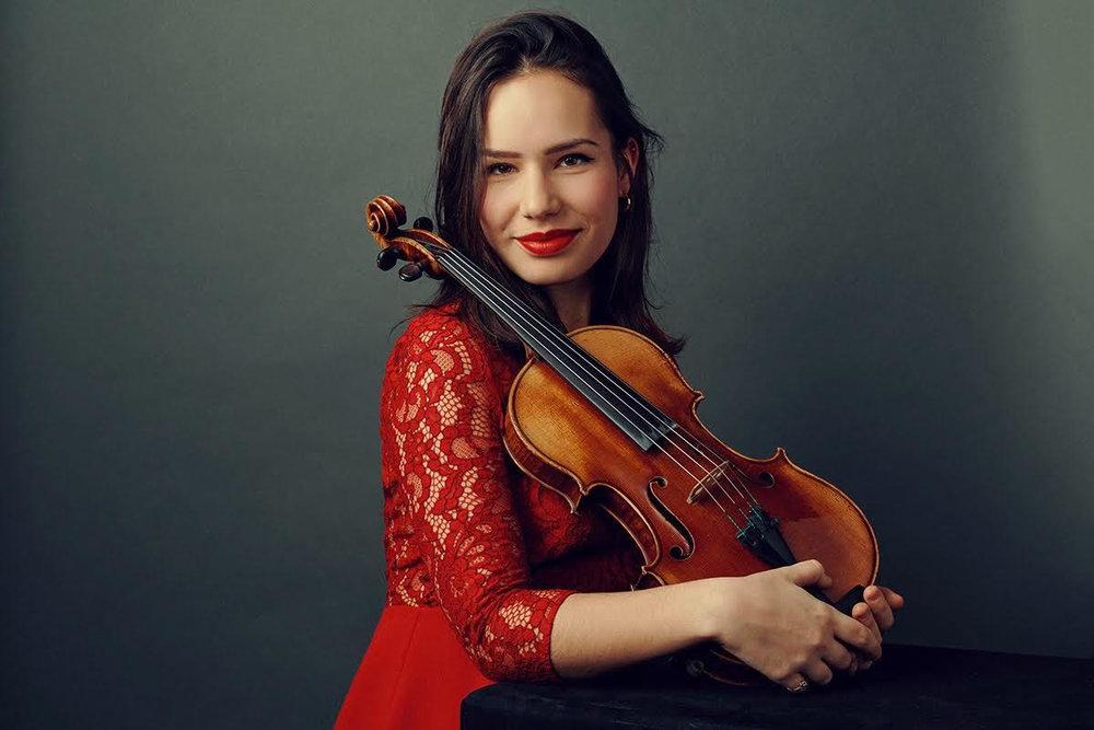 Raphaëlle Moreau, violon