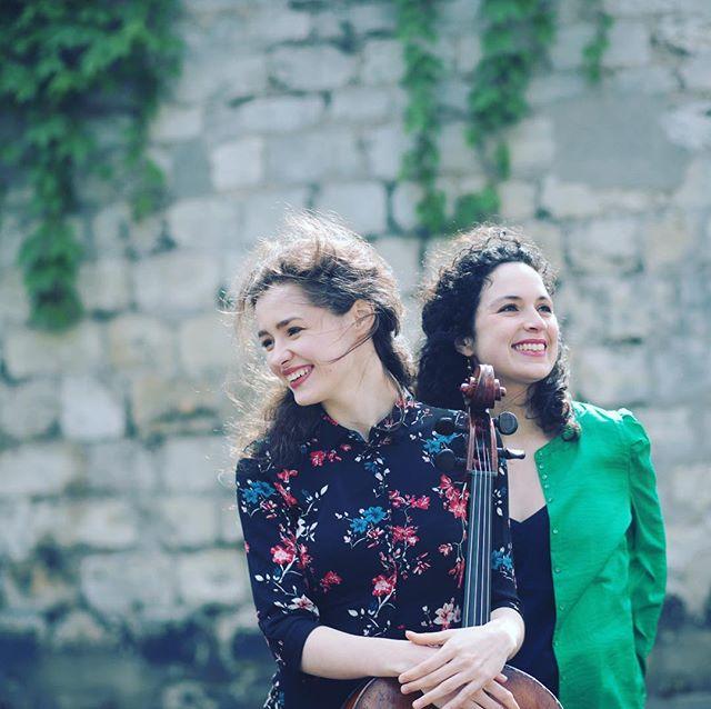 Concert dimanche 14 Avril - 17h | Anastasia Kobekina & Paloma Kouider @anastasiakobekina @paloma.kouider #violoncelle #piano #cello #duoconcert #recital #debussy #ginastera #boulanger #brahms #stravinsky #villedavray #festivalhommagemenuhin #chateau #iledefrance #bonsplans #instaconcert #instaparis #spring #weekend #sunday #dreamteam photo @natachacolmezphotography #natachacolmezphotography