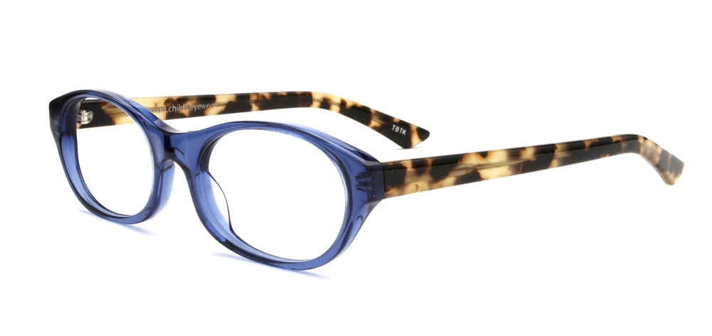 Tracy - Translucent Blue/Tokyo Tortoise
