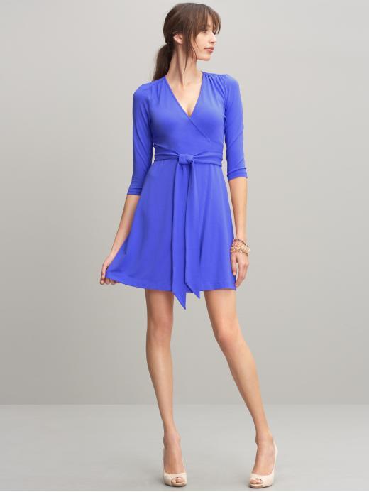 Wrap dress, ballet dress