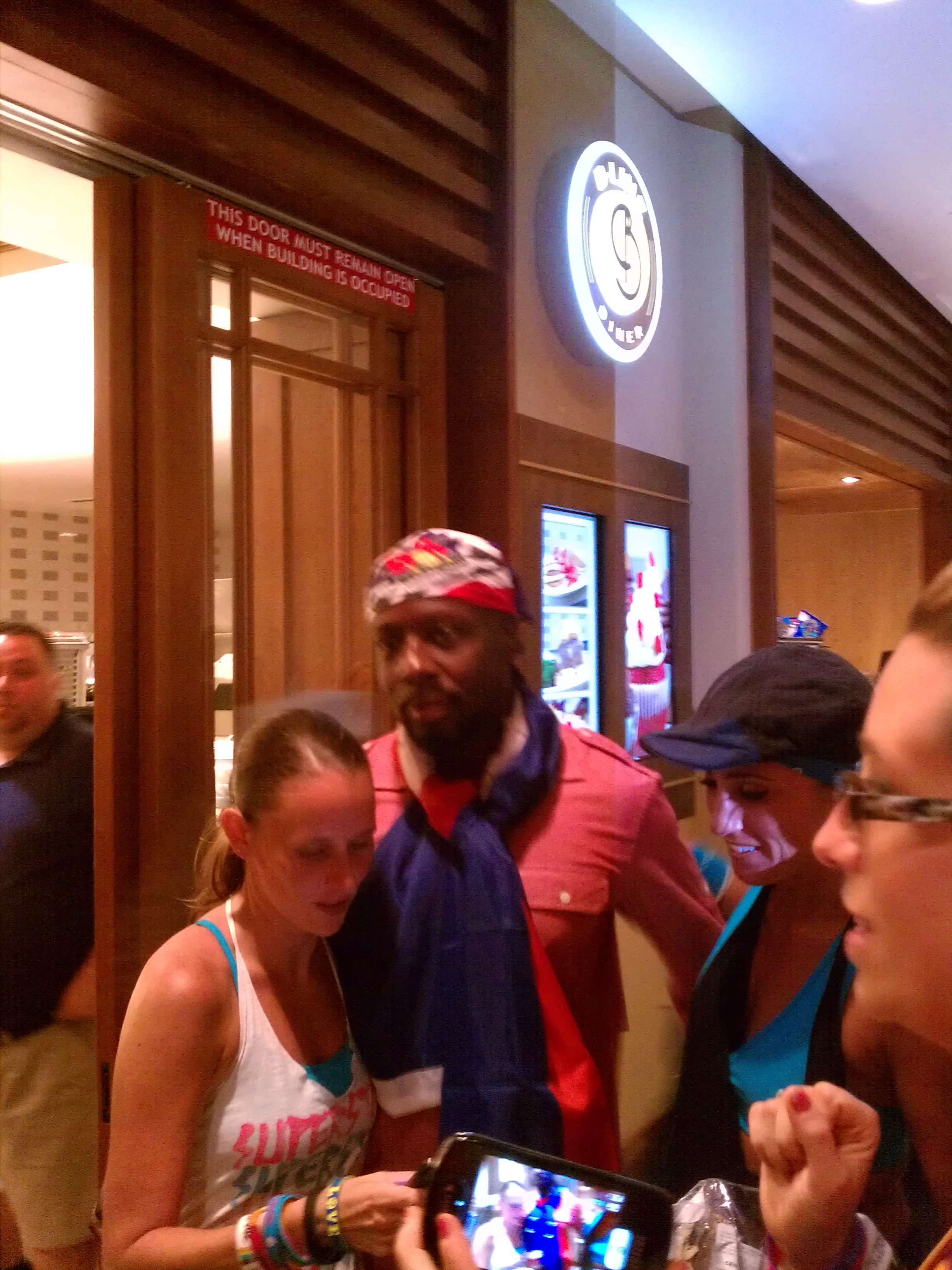 wyclef jean, zumba convention