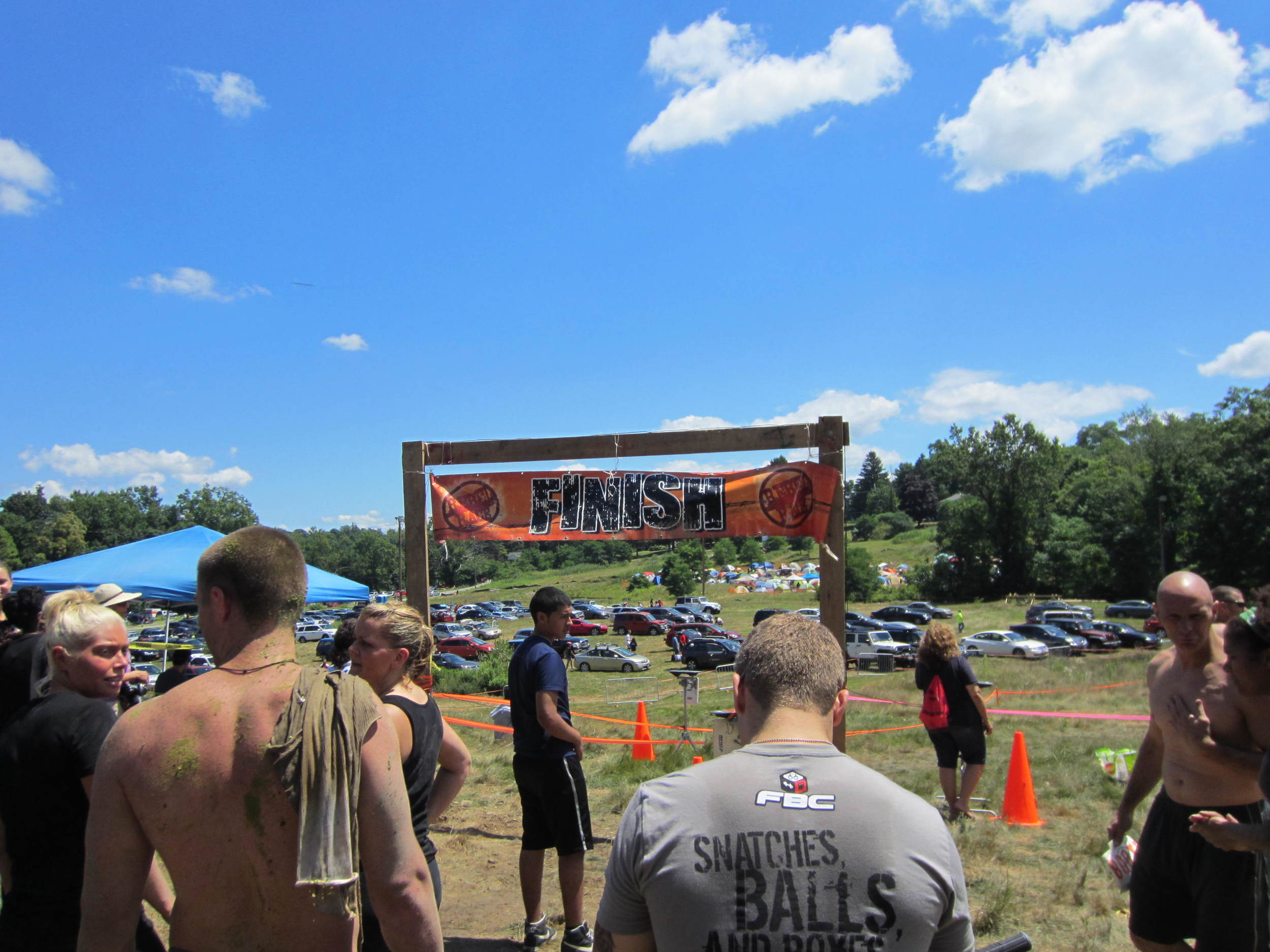 rebel race finish line