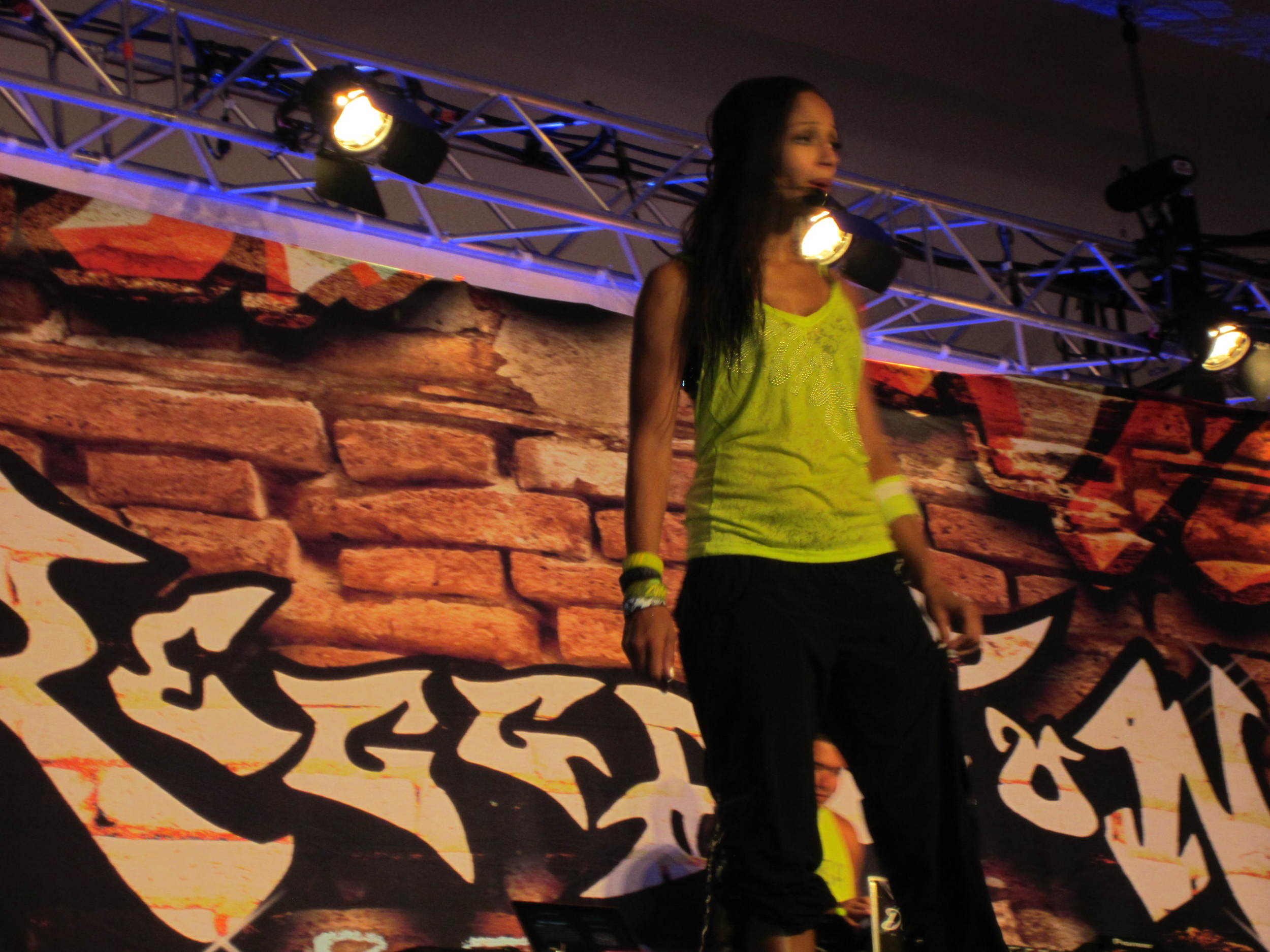 Loretta Bates, ZIN Member, Presenter at Reggaeton Rebellion