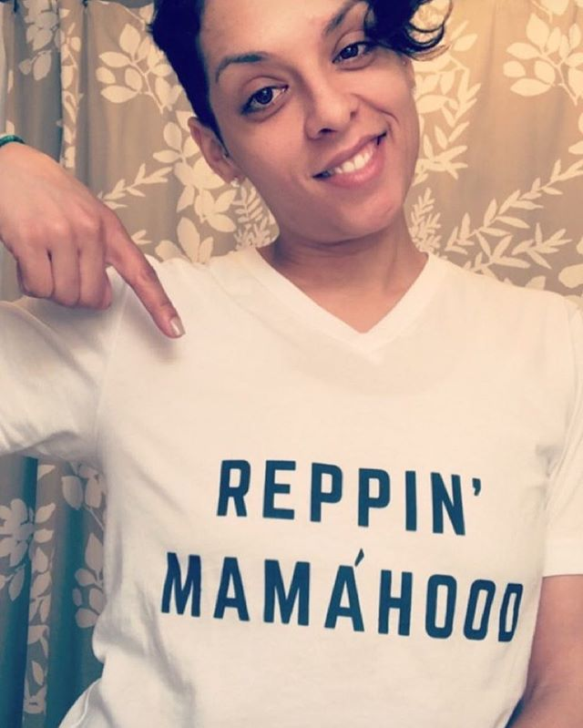 I was wearing my #reppinmamahood shirt at the zoo yesterday and received so many compliments that led into awesome conversations with other moms about life and how it's all changed.  Keep the conversation going and order your #reppinmamahood shirt at my shop. Link in profile.  Momma in pic: @subtitled_miv