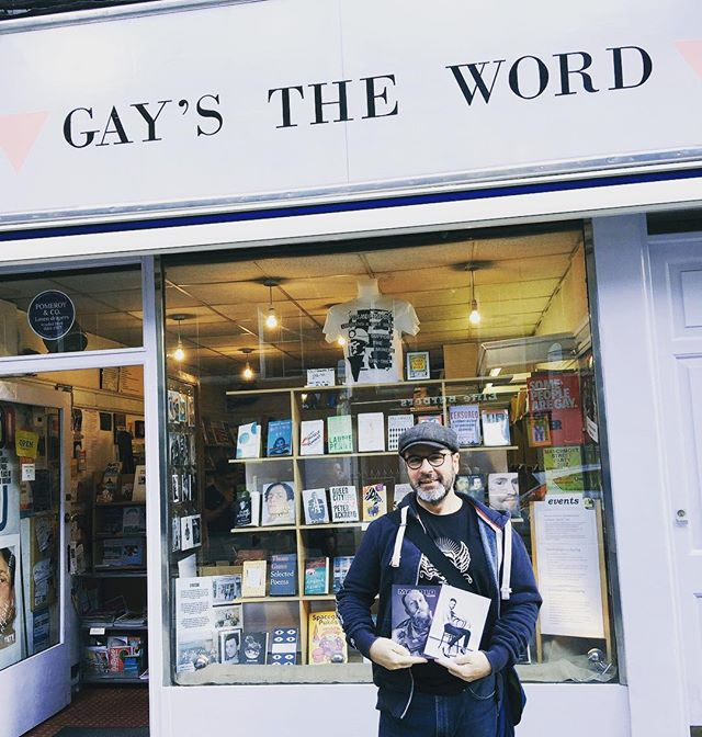 Hey guys if you're in London come to pick-up your #MANOLOmagazine #gaystheword  #london @manolozine