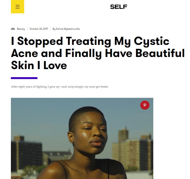 Self | October 2017