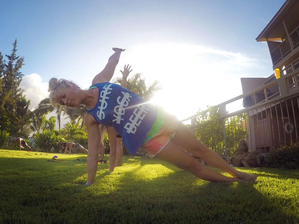 JILL HYBERTSEN, yoga instructor +coordinator