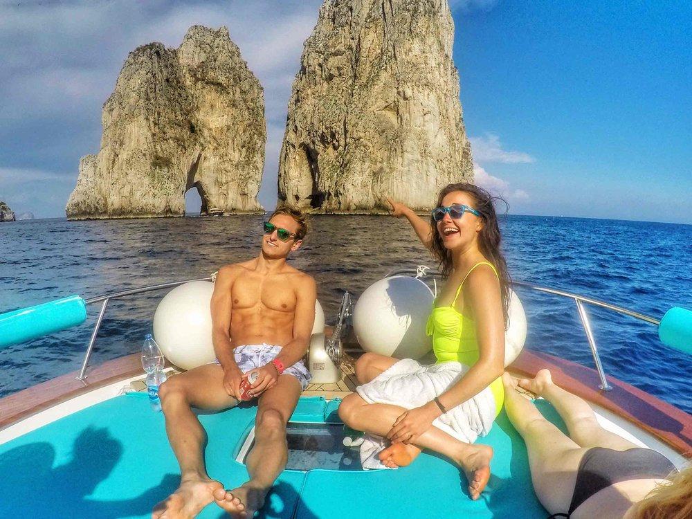 SYB Amalfi 2016 leaders Mantas and Erin